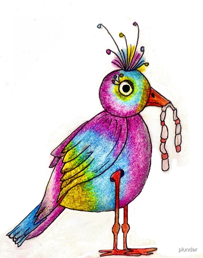 Early Bird Catches the Worm Illustration by plunder