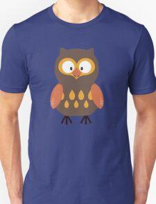Brown Pumpkin Owl T-Shirt