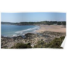 Caswell Bay Poster