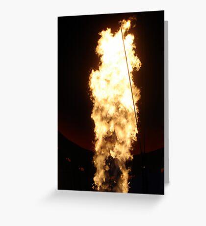 Flame Greeting Card