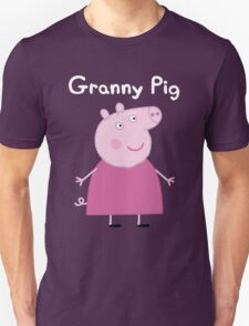 Granny Pig Unisex T-Shirt
