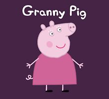 Granny Pig Womens Fitted T-Shirt