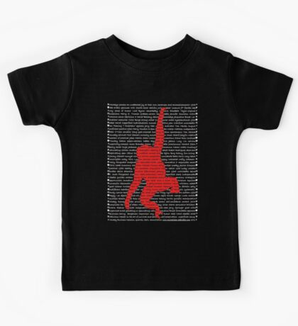 """The Year Of The Monkey"" Clothing Kids Tee"