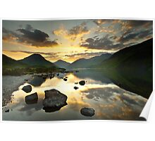 Reflections on Wastwater Poster