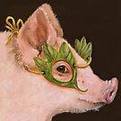 Pig Masquerade by Vicki Sawyer