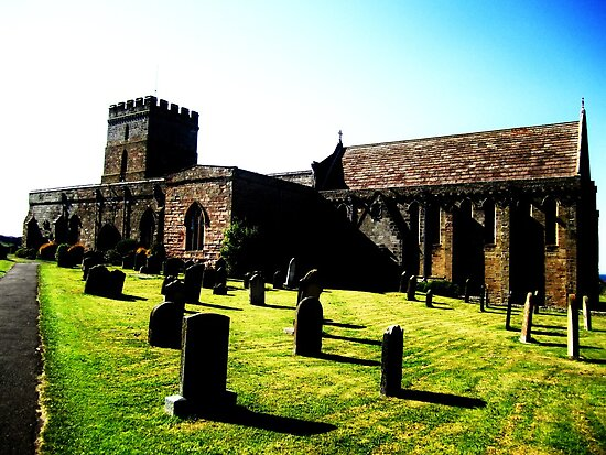 St Aidens Church by Ladymoose