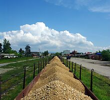 Wagons in Loznica by Rasevic