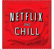 Netflix and chill - condom Photographic Print