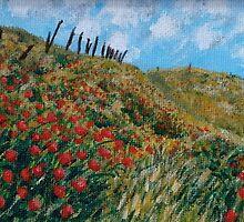 """Poppies"" by Gabriella Nilsson"