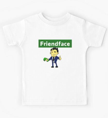 The IT Crowd – Friendface – Meet New Friends Kids Tee