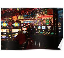 Place without Time - Las Vegas Casino Poster