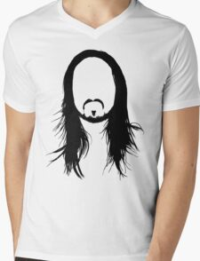 Steve Aoki Shirt  Mens V-Neck T-Shirt