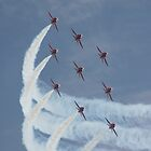 Red Arrows 5 by JenMetcalf