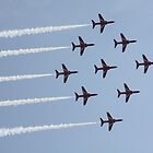 Red Arrows 6 by JenMetcalf