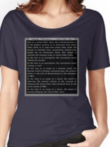 Dwarf Fortress Shirt Artifact DARK BLUE ONLY Women's Relaxed Fit T-Shirt