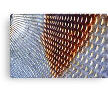 Metal Abstract Canvas Print