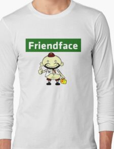 The IT Crowd – Friendface – Catch Up with Old Friends Long Sleeve T-Shirt