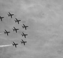 Red Arrows 9 by JenMetcalf