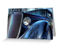 '34 Ford Greeting Card