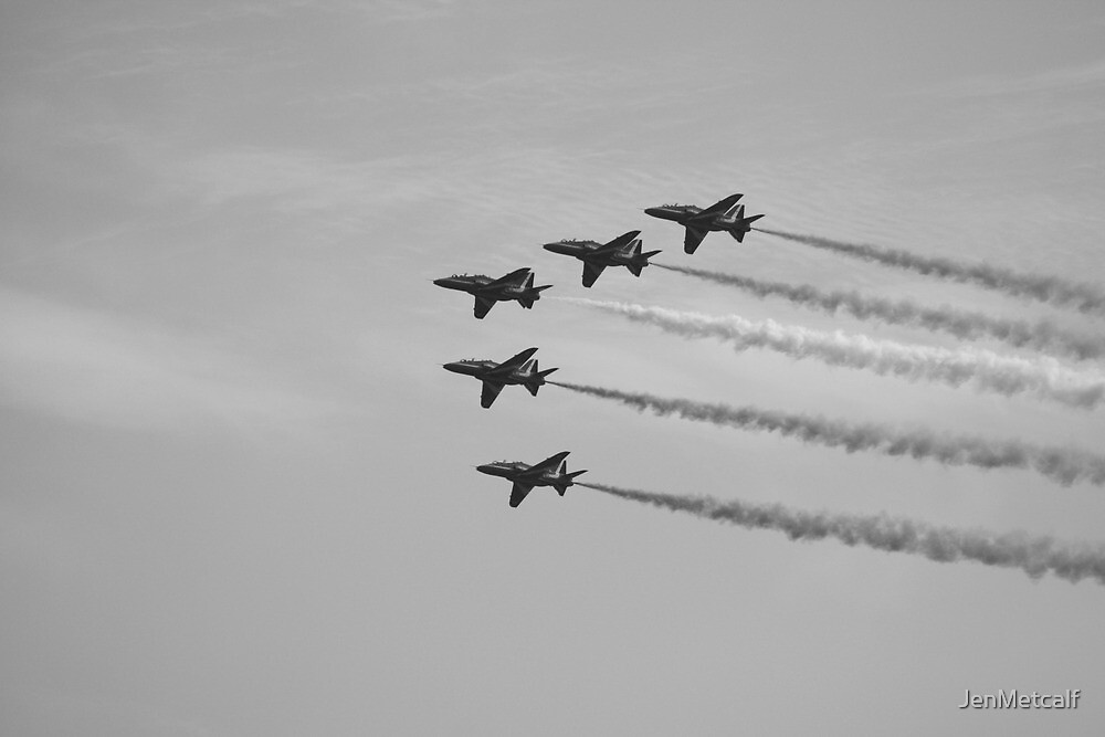 Red Arrows 11 by JenMetcalf