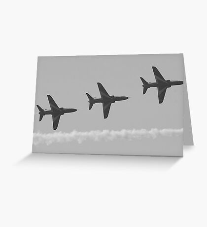Red Arrows 14 Greeting Card