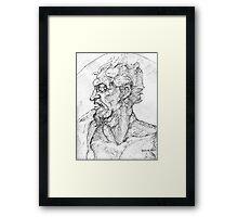 Study of a Satyr Framed Print