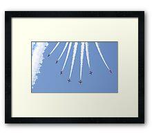 Red Arrows 16 Framed Print