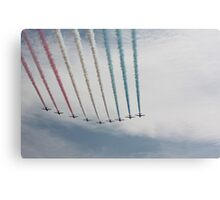 Red Arrows 17 Canvas Print