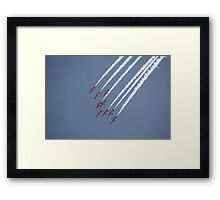 Red Arrows 18 Framed Print