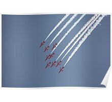 Red Arrows 18 Poster