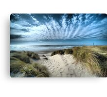 Crown Sky Canvas Print