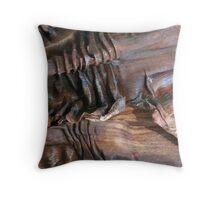 Organic fibers Throw Pillow