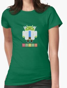 Professor Droid Womens Fitted T-Shirt