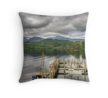 Keswick Jetties Throw Pillow