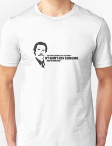 Anchorman T-Shirts - Last time i checked the dictionary Unisex T-Shirt
