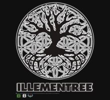Illementree Logo Merch 1  by David Avatara