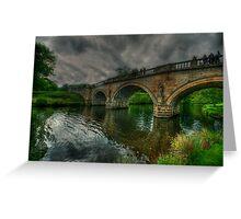 River Derwent Bridge Greeting Card