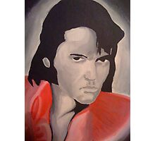 Elvis Presley King of Rock and Roll Photographic Print