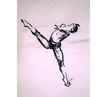 Male Dancer sketch  Photographic Print