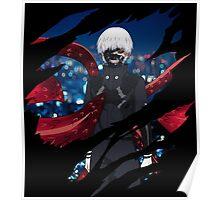tokyo ghoul kaneki ken anime manga shirt Poster