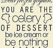 Frozen Yoghurt by bctaskin