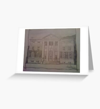 Hill Valley 1985 Greeting Card