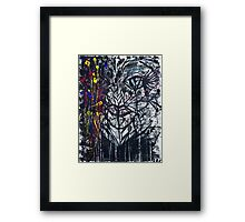 I Hate Yellow...Drawing Day Framed Print