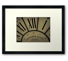 Printania Hotel - Time Passages Framed Print