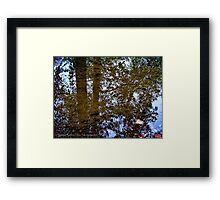 Ancient Mirror Framed Print