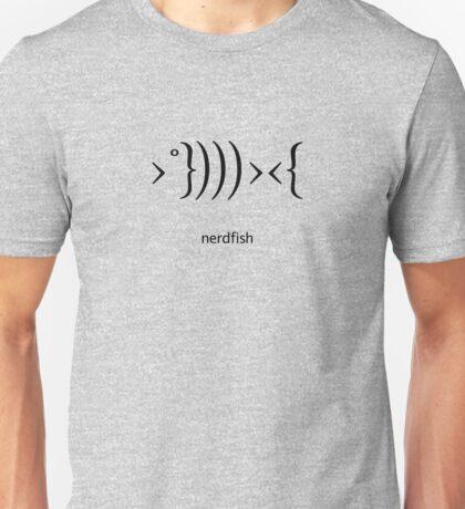 Nerdfish - Black Unisex T-Shirt