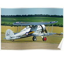 Gloster Gladiator Poster
