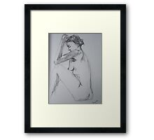 drawing day Framed Print