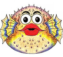 Puffer Fish Illustration by plunder