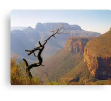 Blyde River Canyon Canvas Print